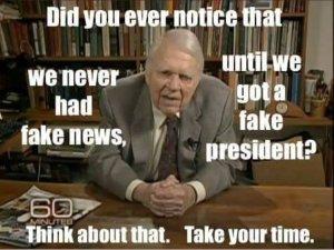 Donald Trump - Fake news