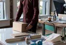 Internet en trends voor online verpakkingen bestellen