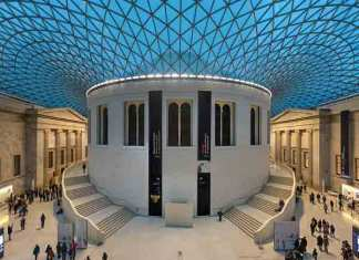 Populairste culturele attractie in Groot-Brittannië is het British Museum