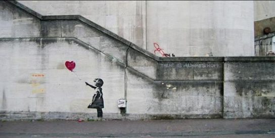 Banksy -There Is Always Hope - 2007