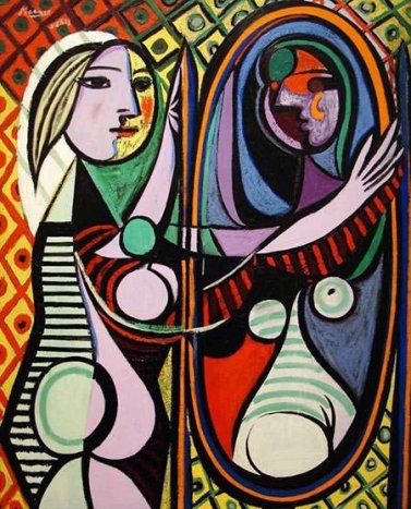 Pablo Picasso - Girl Before A Mirror (1932)