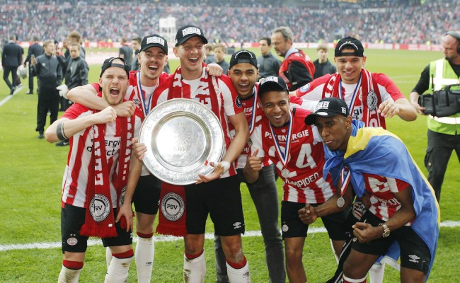 Psv Clinch 24th Dutch League Title With 3 0 Win Over Ajax