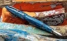 Leonardo_Furore Grande_Blue Hawaii_Fountain Pen