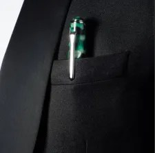 Tibaldi_No.60_Emerald-Green-Resin_Rollerball