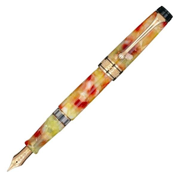 Aurora_Optima_Caleidoscopio_Luce Gialla_Fountain Pen