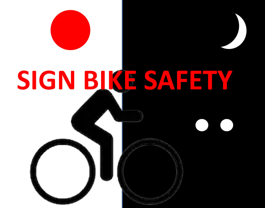 sign bike safety do
