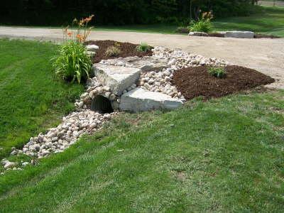 1000 culvert landscaping