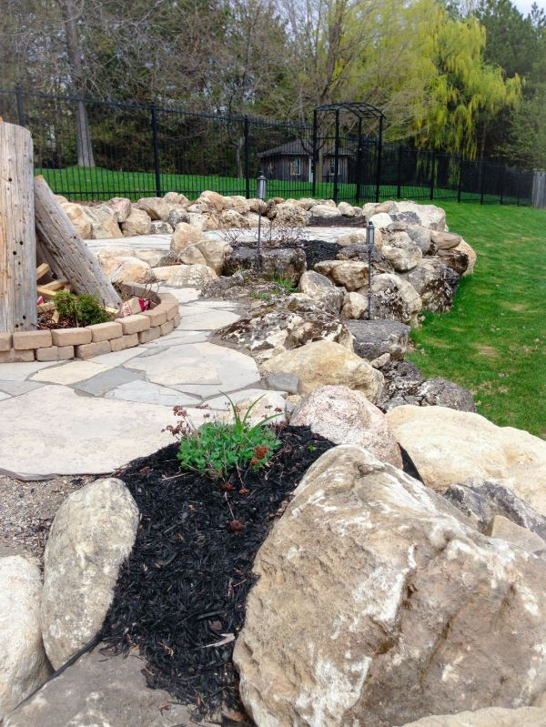 stone work dutch touch landscaping