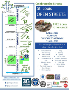Flyer for STL Open Streets.