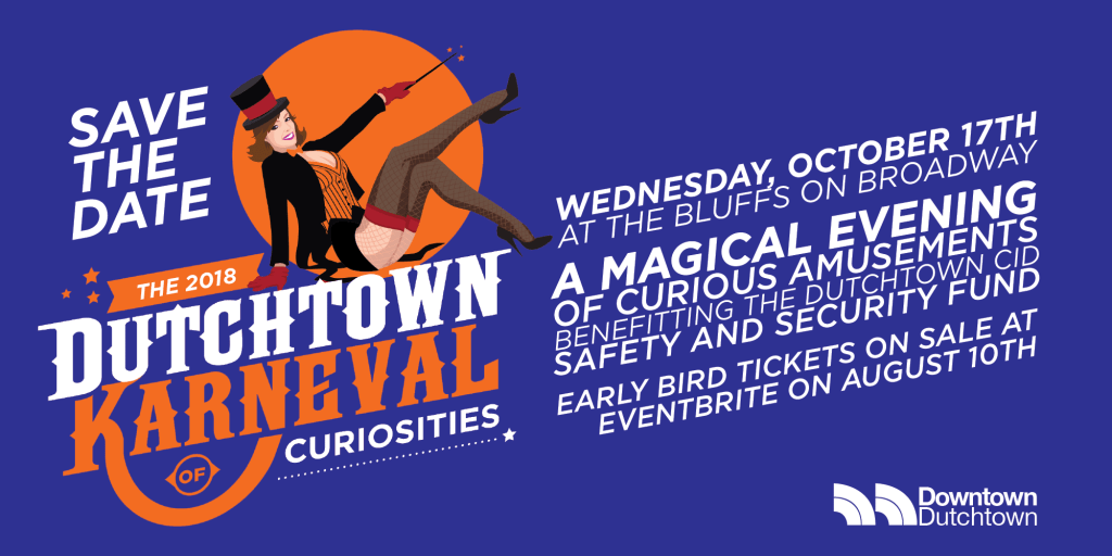 Save the Date: Dutchtown Karneval of Curiosities on October 17th.