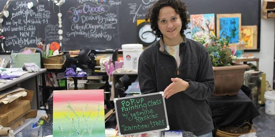 Pop Up Painting Class with Jasmine Raskas