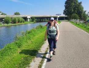 Onderweg te voet van Amsterdam naar Arnhem