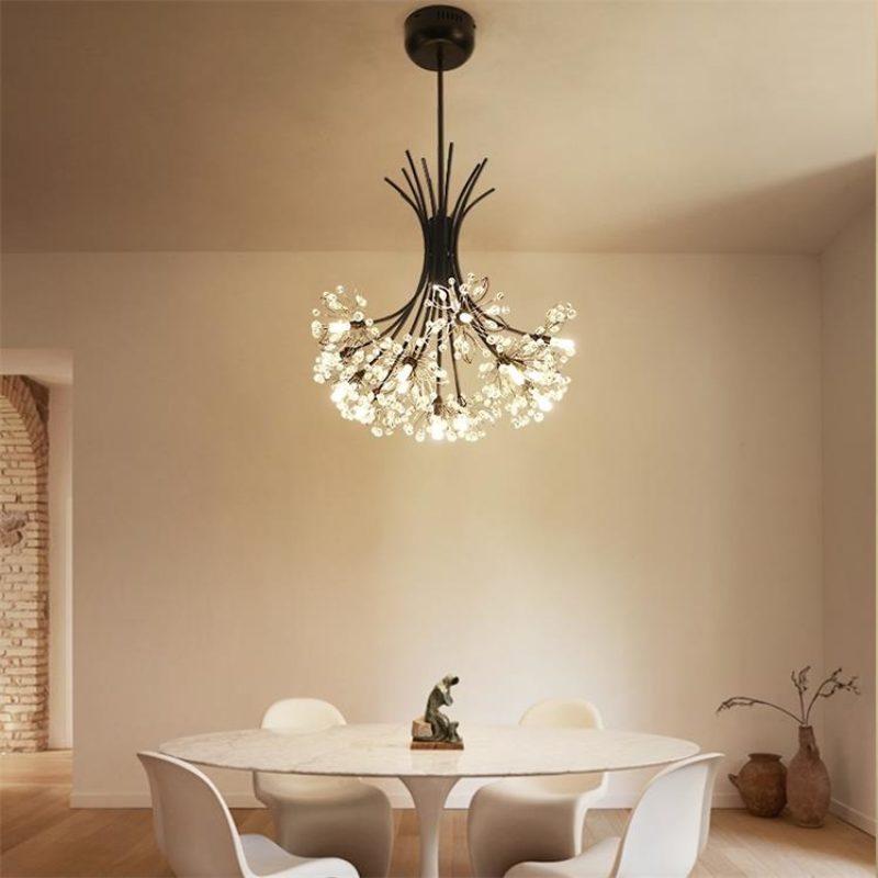 Dutti Led Pendant Light Scandinavian Style Warm Bedroom