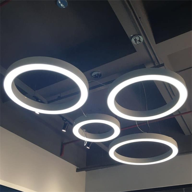 Dutti D0065 Led Pendant Light Round Ring Industrial Wind