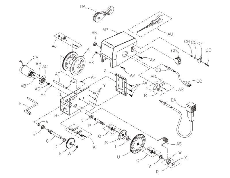 Strong Arm Winch 12 Volt Wiring Diagram