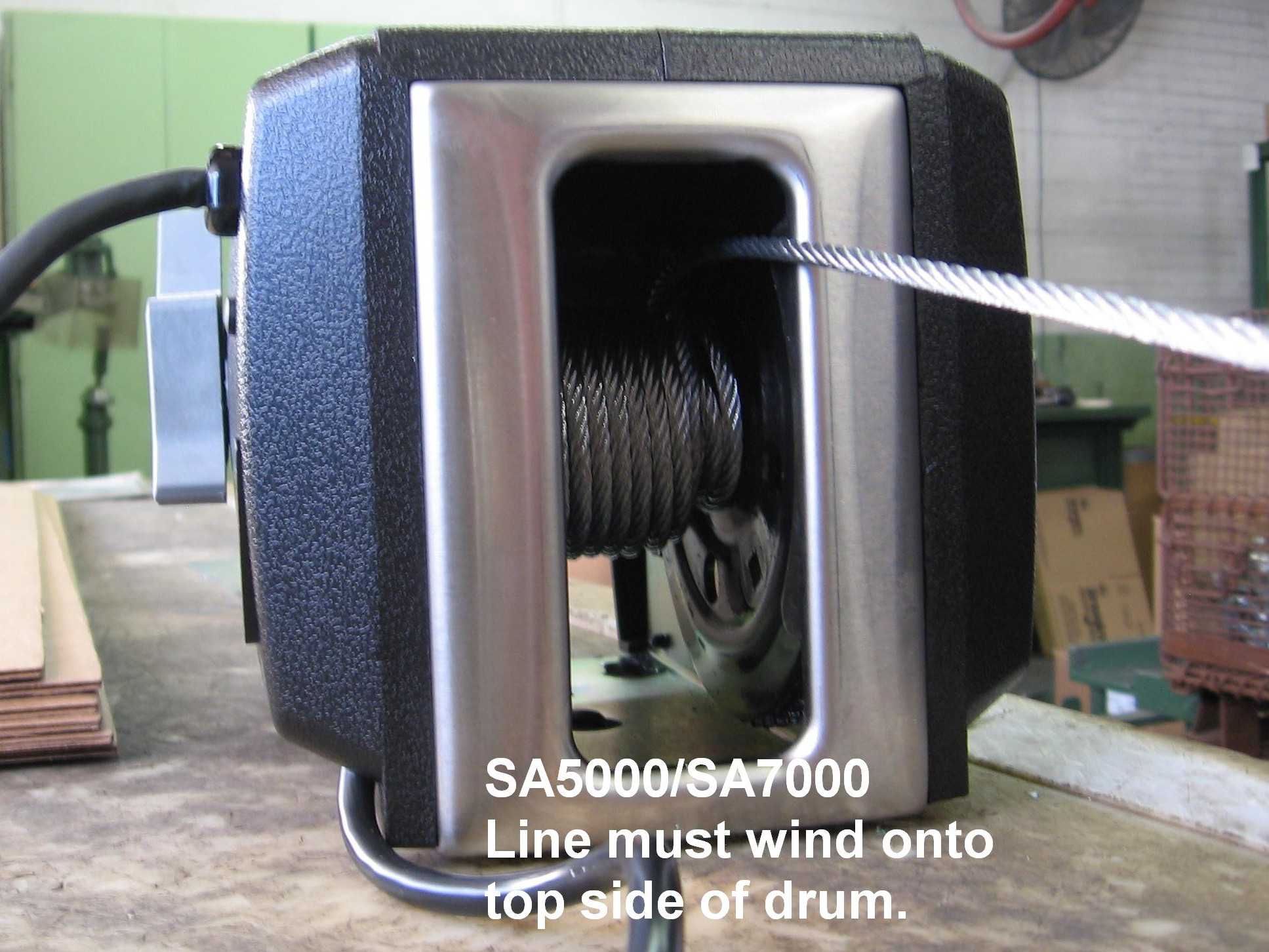 hight resolution of if the cable is wound the wrong direction the brake will not work if you are not sure which model you have the model number is shown at the bottom of the