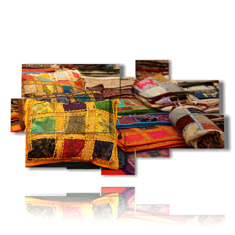 Cornici dorate, argentate, colorate, classiche e moderne. Foto Moderne Per Quadri Con Cuscini Indiani 3d Duudaart