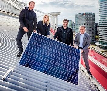 zonnepanelen op Amsterdam Arena