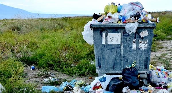 afval plastic