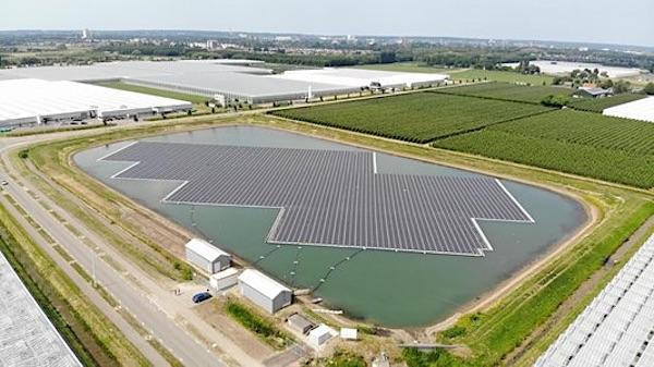 drijvend zonnepark lingewaard