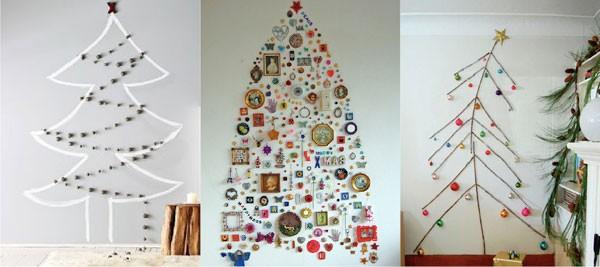 Inspiratie voor mooie duurzame alternatieve kerstbomen