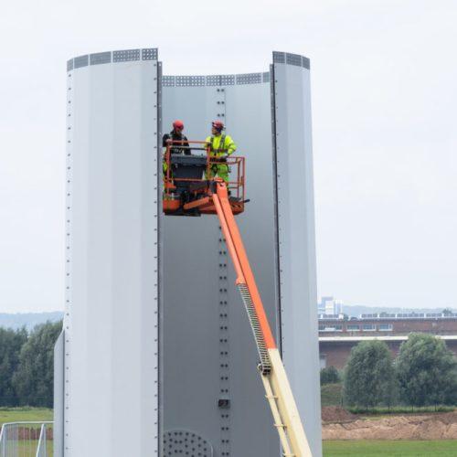 Windpark Koningspleij vordert