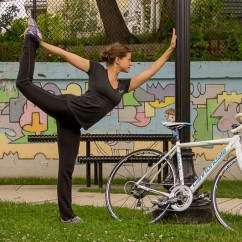 The Bike Chair Baby Nursery Chairs Australia 9 Yoga Poses For Cyclists Duvine Instructor Toby Kumin Demonstrates Perfect To Keep Your Loose Limber And Free Of Pain Stress Both On Off