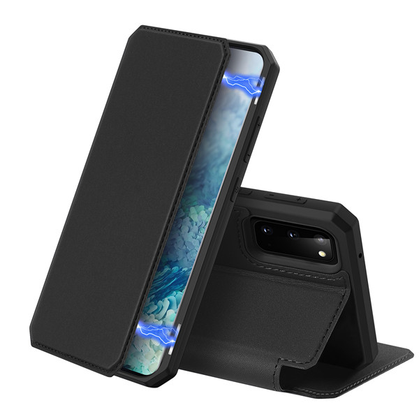 Skin X Series Magnetic Flip Case for Samsung Galaxy S20_Phone Case. USB Cable. Wireless Charger. USB Charger | DUX DUCIS Skin X Series Magnetic ...