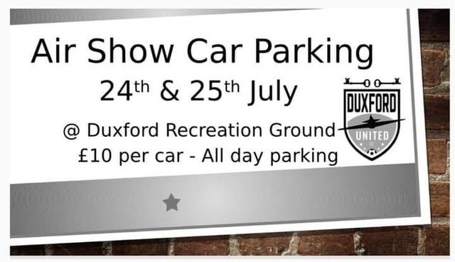 Duxford Air Show Car parking
