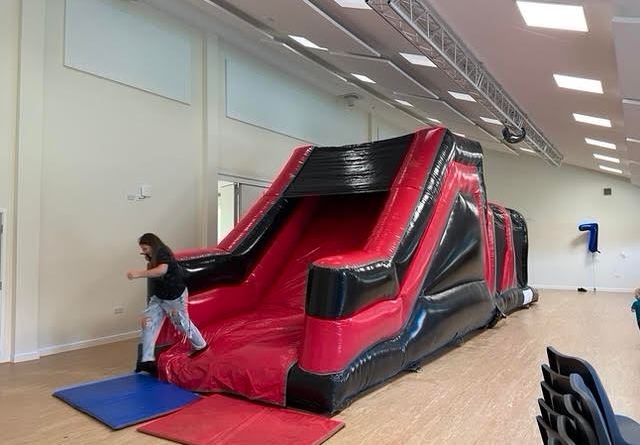 Now that's some bouncy castle