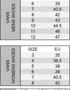 Write  review vans size chart also black old skool shoes shop the latest fashion online dv rh dv fashion