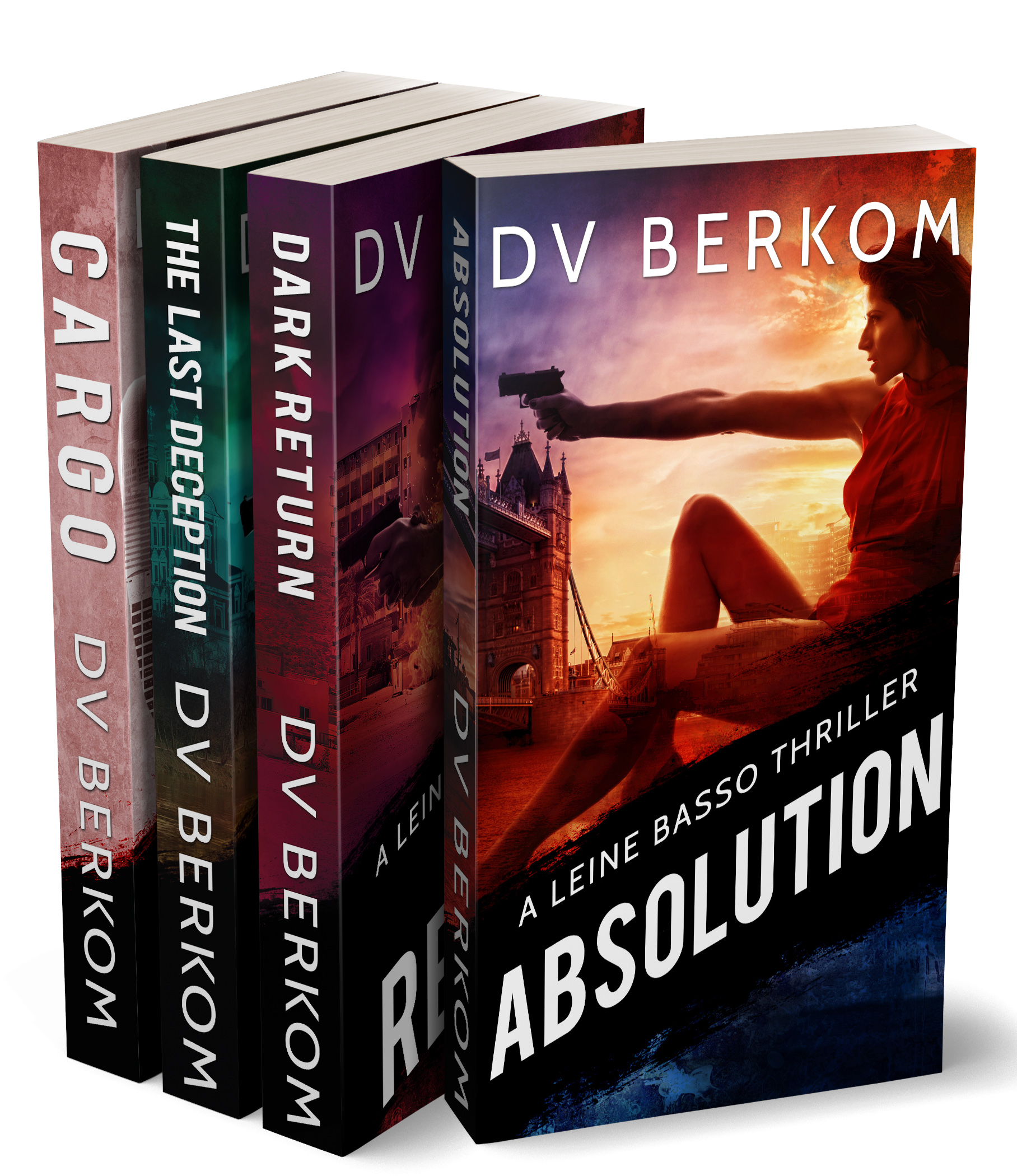 cover for the leine basso thriller series volume 2