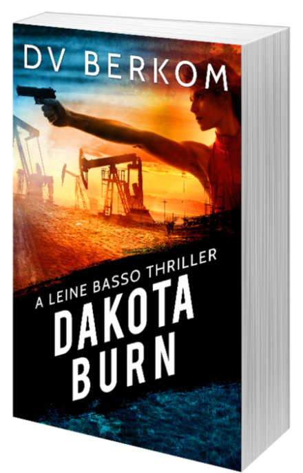 image of paperback copy of Dakota Burn