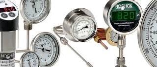 NoShok Pressure, Temperature and Level Gauges