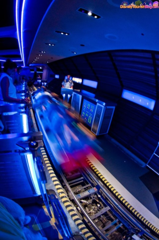 Space Mountain at Magic Kingdom in WDW Orlando, Florida
