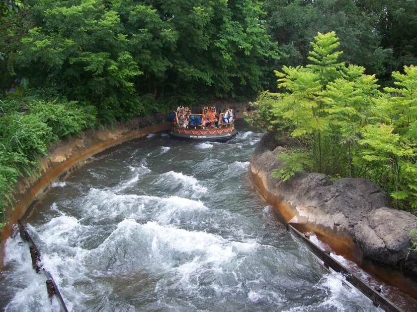 Kali River Rapids at Disney World