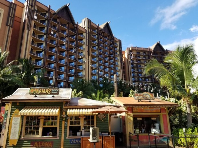 Aulani DVC including mamas snack shop