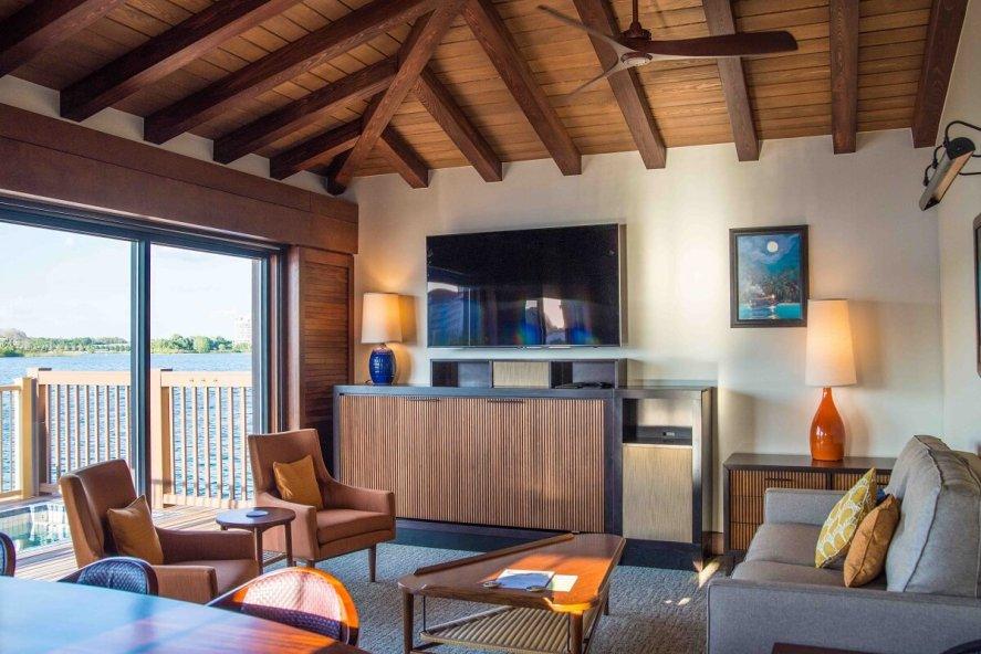 DVC bungalow at DIsney's Polynesian Resort