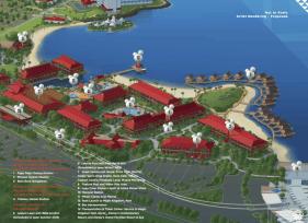 Map of Disney's Polynesian Resort