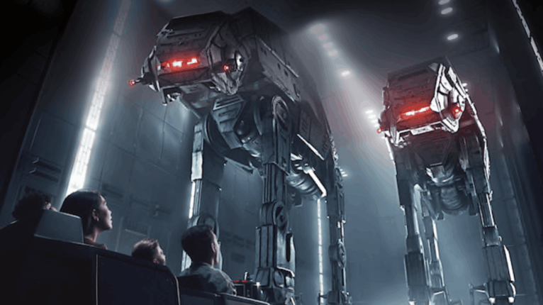 Star Wars Galaxy's Edge Rise of the Resistance