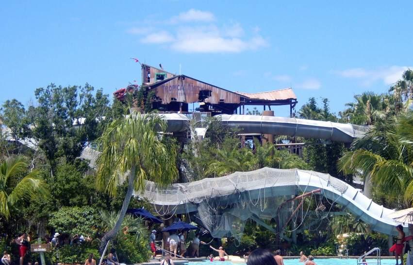 Crush N Gusher water slide attraction