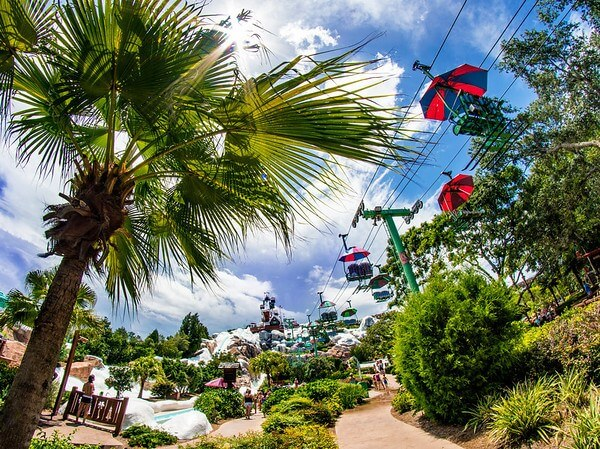 Disney's Blizzard Beach gondolas