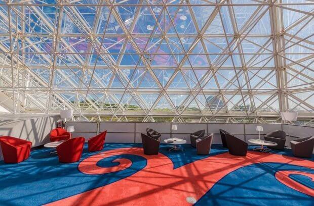 Disney Vacation Club Lounge at Epcot's Imagination! Pavilion