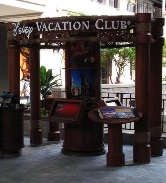 Disney Vacation Club booth