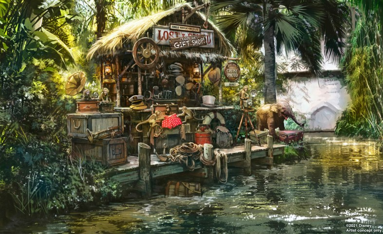 Lost and Found Gift Shop at the Jungle Cruise at Magic Kingdom.