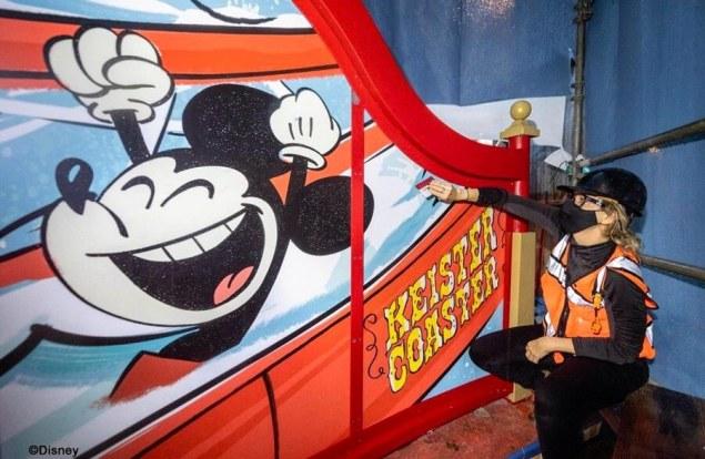 Keister Coaster redo at Disney's Boardwalk Resort