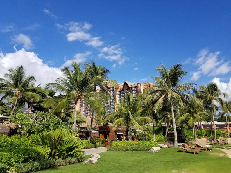 Aulani, a Disney Resort & Spa in Ko Olina, exterior