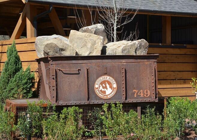 Boulder Ridge mine cart at Disney's Wilderness Lodge