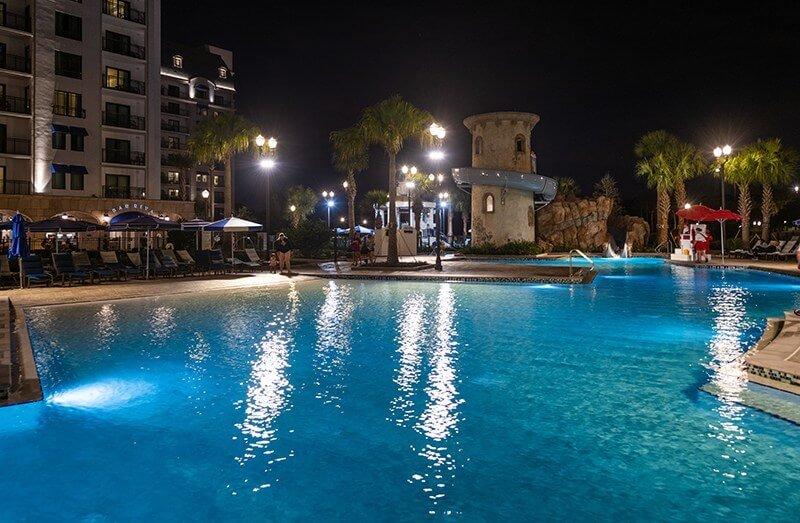 Pool view at Disney's Riviera Resort