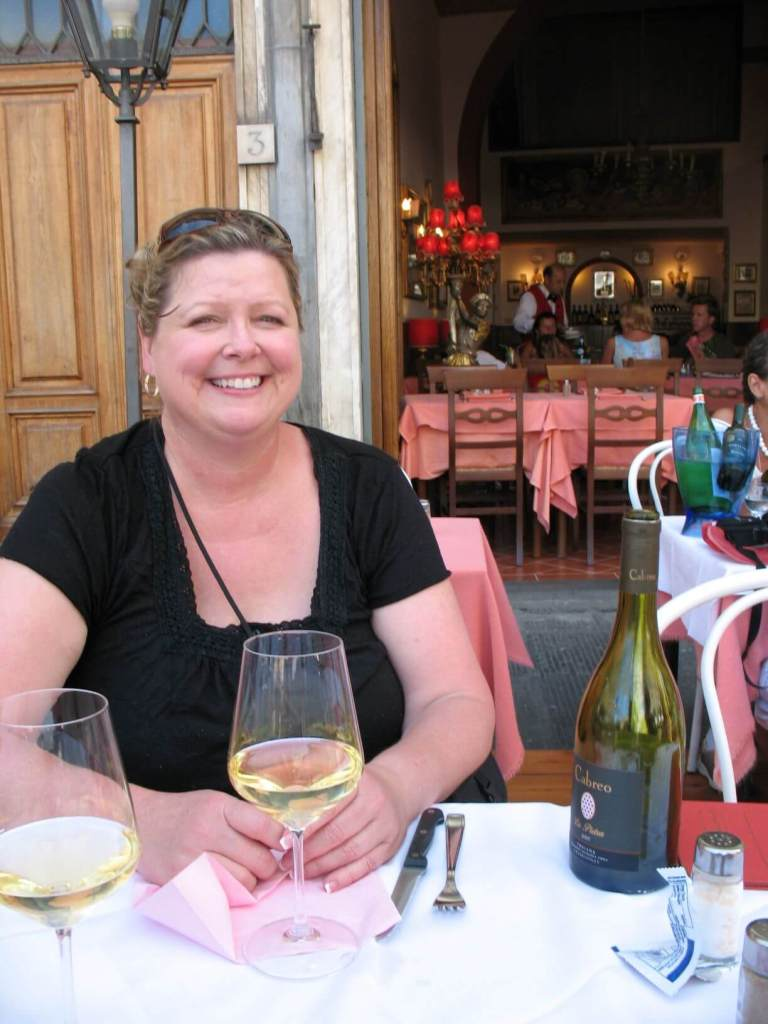 Karen Scheff on Adventures by Disney Tuscany Trip